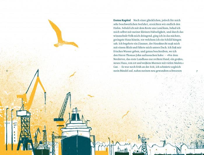 Seiten aus Peter Schlemihl